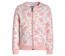 LITTLE FARM Sweatjacke sweet rose melange