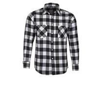 Hemd black/white