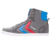 SLIMMER STADIL - Sneaker high - castle rock/ribbon red/brilliant blue