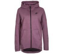 TECH FLEECE CAPE Sweatjacke purple shade heather/black