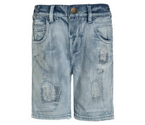 DISTRESSED - Jeans Shorts - blue