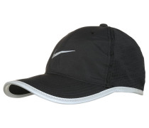 Cap black/reflective silver