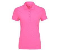Poloshirt hyper pink/white