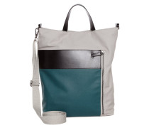 JOSIP - Handtasche - grey/black/green