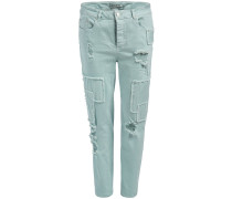 ISIDORA - Jeans Straight Leg - light green