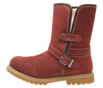 Stiefelette red
