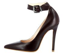 High Heel Pumps - dark brown