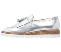 BELUGA Slipper argento/bianco