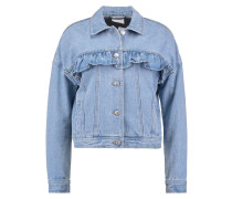 VMOLIVIA Jeansjacke light blue denim