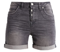 CAJSA - Jeans Shorts - grey denim