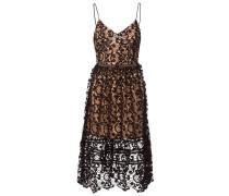 Cocktailkleid / festliches Kleid - schwarz-nude
