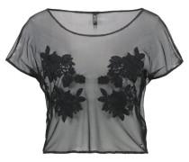Nachtwäsche Shirt jet black