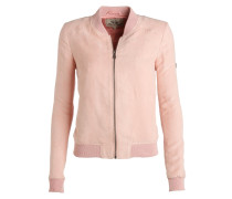 GREENSBORO Kunstlederjacke rose