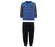 LONDON Pyjama strong blue