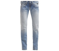 NEW SWENFANI Jeans Straight Leg lightblue denim
