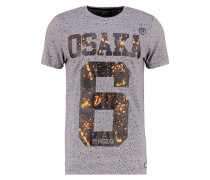 OSAKA SPLATTER - T-Shirt print - grit grey