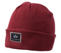 XFIT Mütze burgundy