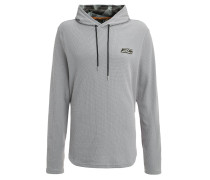 Sweatshirt - true gray heather/artillery green