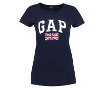 UK FLAG - T-Shirt print - navy uniform