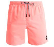 POPUP Badeshorts neon tangerine pink