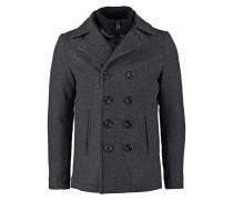 Wollmantel / klassischer Mantel anthracite
