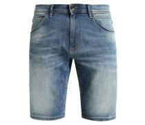 Jeans Shorts - destroyed light stone wash