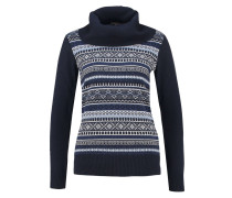 Strickpullover peacoat/light blue