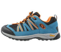 OHIO Sneaker low petrol/schwarz/orange
