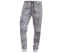JAX Jogginghose black/white
