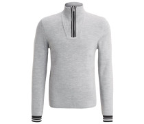 TOBY Strickpullover grey