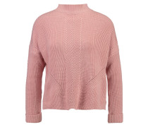 TRAVELLING BOXY Strickpullover pink