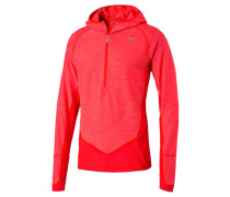 Langarmshirt red blast heather