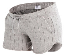 MLNABIA - Jogginghose - light grey melange/peach whip