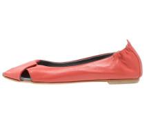 ATENA Peeptoe Ballerina alaska corallo