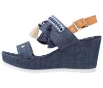 BALI Keilsandalette jeans
