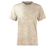 SALOMON TShirt print light bone
