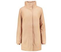 JAYNE Wollmantel / klassischer Mantel tan