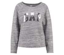 Sweatshirt space dye grey marl