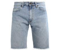 SWELL SPICER - Jeans Shorts - blue true bleached