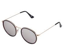 Sonnenbrille - mottled brown