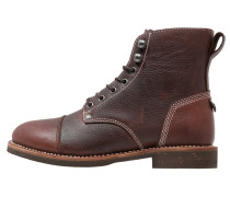 KNOXVILLE Schnürstiefelette dark brown