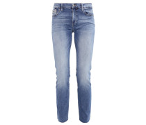 MID RISE STRAIGHT MOROCCAN - Jeans Slim Fit - blue
