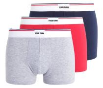 3 PACK - Panties - blue/grey/red