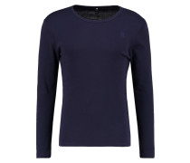 GStar BASE R T L/S 1PACK SLIM FIT Langarmshirt purple