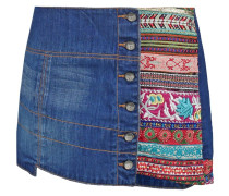 MANUEL Jeansrock denim electric blue