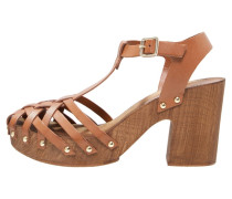 VENICE High Heel Sandaletten tan