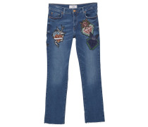 Jeans Straight Leg medium blue