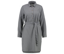FLASINA Blusenkleid medium grey melange