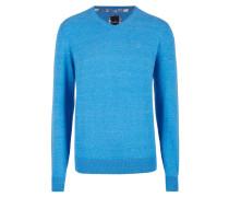 Sweatshirt - königsblau melange