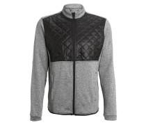 Fleecejacke dark grey heather/black